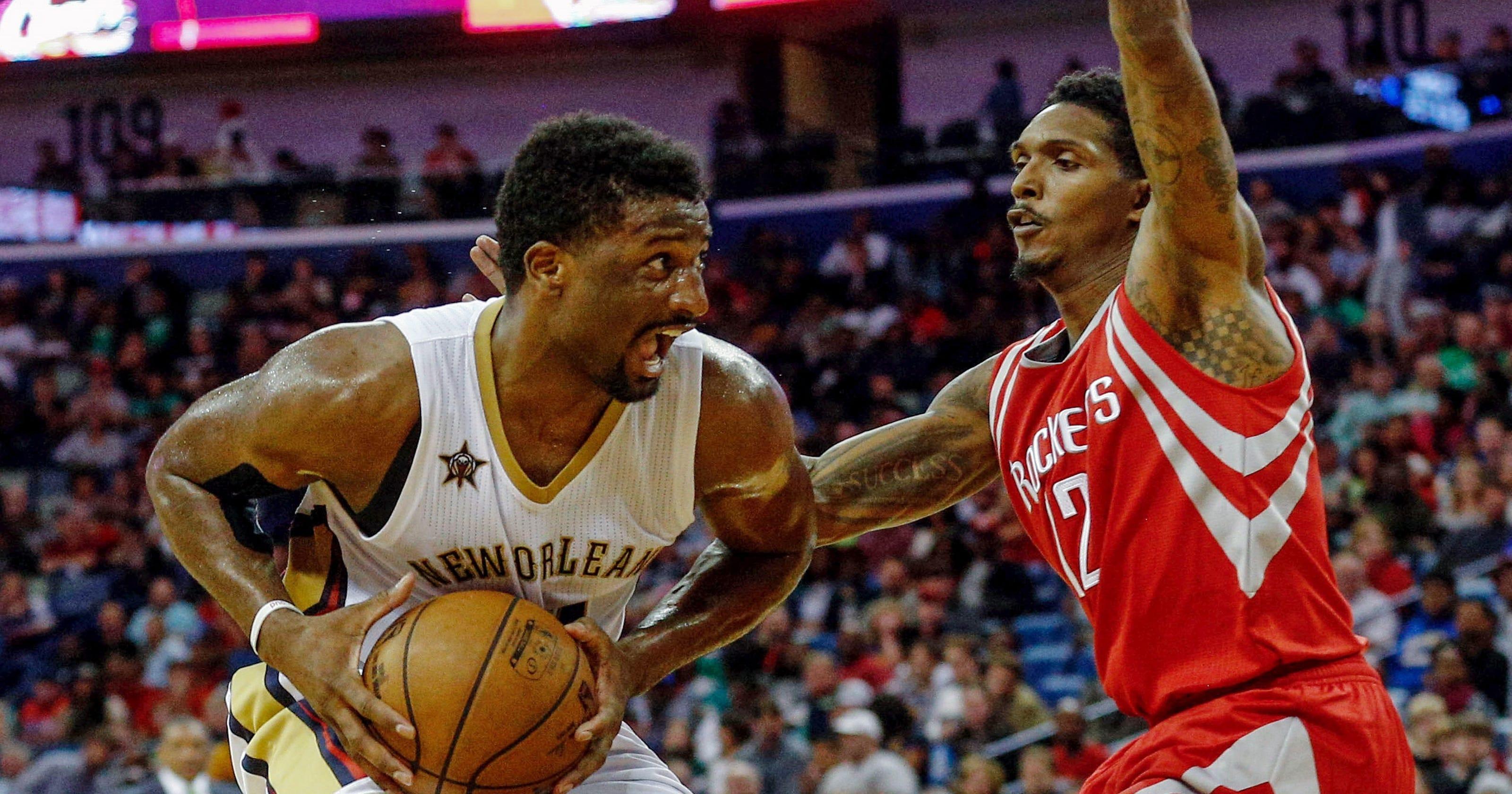 5fbe39de0ad Pelicans drub Rockets despite Harden triple-double
