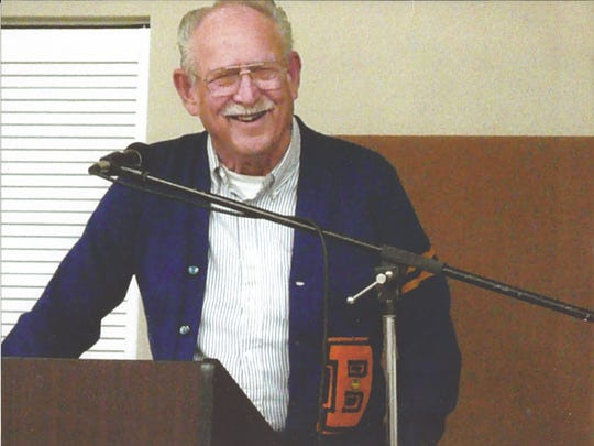 Gordon Personius at the 2006 Kitsap Sports Hall of Fame induction ceremony. Personius died last month at age 86.