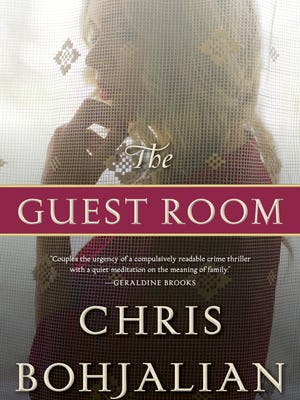 """Cover of """"The Guest Room,"""" latest novel by Vermont author Chris Bohjalian"""
