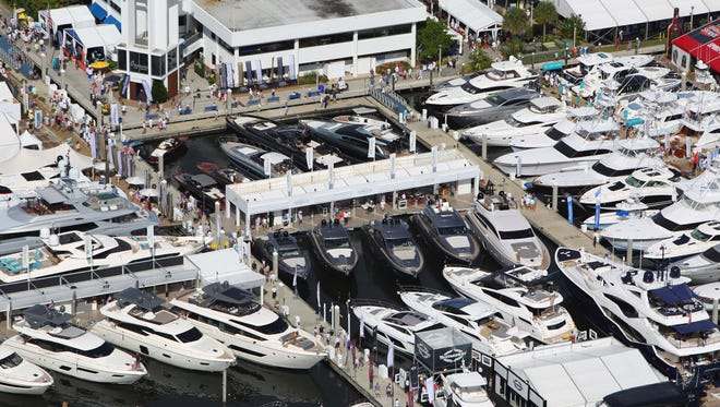 The Bahia Mar Yachting Center in Fort Lauderdale will be the heart of the 2017 Fort Lauderdale International Boat Show Wednesday through Nov. 5.