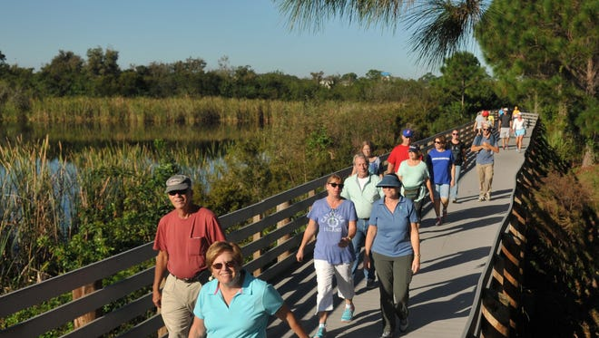 A community walk is planned for Aug. 19 at the Brevard Zoo. Almost 300 people participated when FLORIDA TODAY organized a walk at the zoo in 2015.