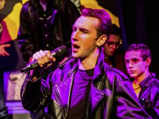 "Danny Zuko (Jake Groom) is ""All Choked Up"" in Seven"