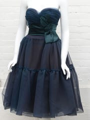 A Phillip Hulitar designed dress from the 1950's, which