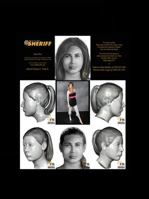 Updated composite sketches made with the assistance of the National Center for Missing & Exploited Children.