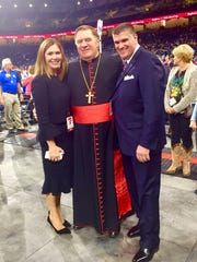 Cardinal Joseph Tobin participated in the November