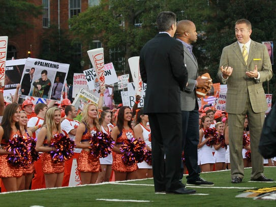 ESPN GameDay returns to Clemson