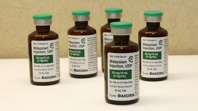 Death-row inmates have said they fear midazolam cannot fully mask the pain caused when other drugs shut down the lungs and heart.