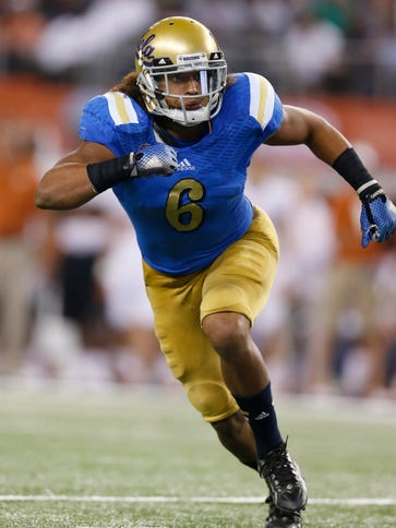 LB Eric Kendricks is UCLA's all-time leading tackler.
