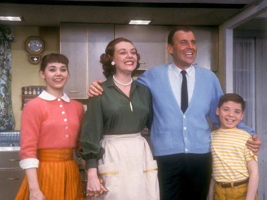 """Susan Watson (from left), Marijane Maricle, Paul Lynde and and Johnny Borden appeared in """"Bye Bye Birdie"""" on Broadway."""