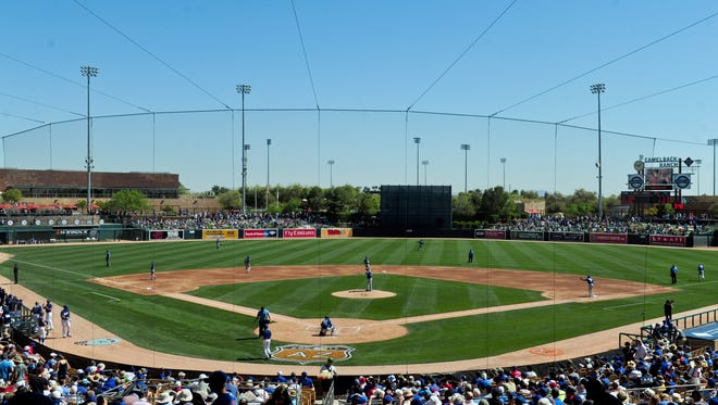 Glendale leaders expected development to grow around Camelback Ranch ballpark, but that hasn't happened yet. They hope the sale of a 38-acre lot changes that.