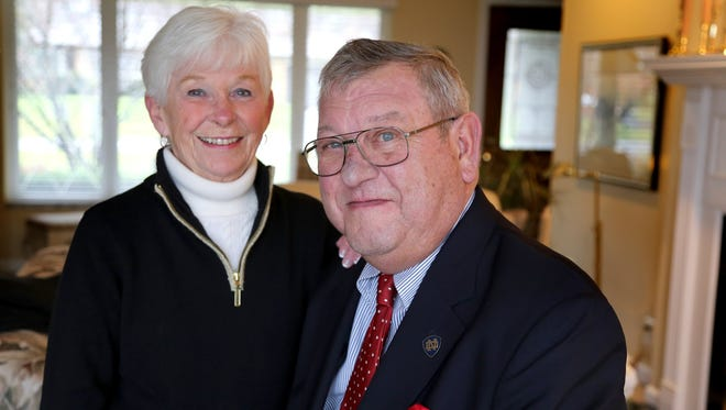 Longtime smokers Julie, 71, and Bill Petersmark, 72, of Waterford received free lung scans through the INHALE lung health study at the Barbara Ann Karmanos Cancer Institute. Under a new proposal, Medicare would soon cover the same services for seniors who are heavy smokers.