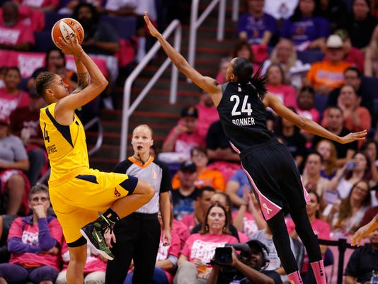 Phoenix Mercury vs Indiana Fever