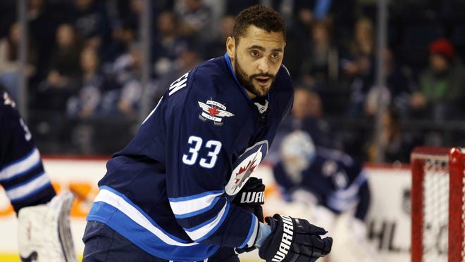 Winnipeg Jets defenseman Dustin Byfuglien will be the most coveted player on the trade market if he's not re-signed.