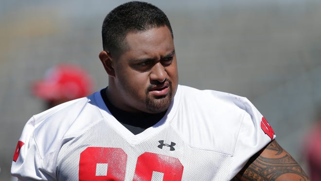 Wisconsin nose tackle Olive Sagapolu could see the field more on Saturday night vs. Nebraska.