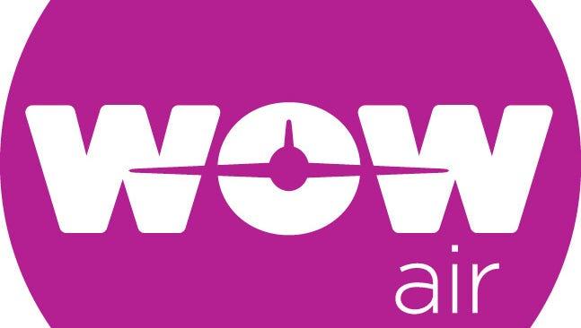 The Wow Air logo.