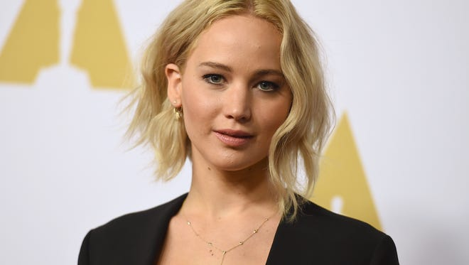 Jennifer Lawrence arrives at the 88th Academy Awards Nominees Luncheon at The Beverly Hilton hotel on Feb. 8, in Beverly Hills, California.