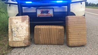 Police seized around 44 pounds of marijuana in Fayette County.