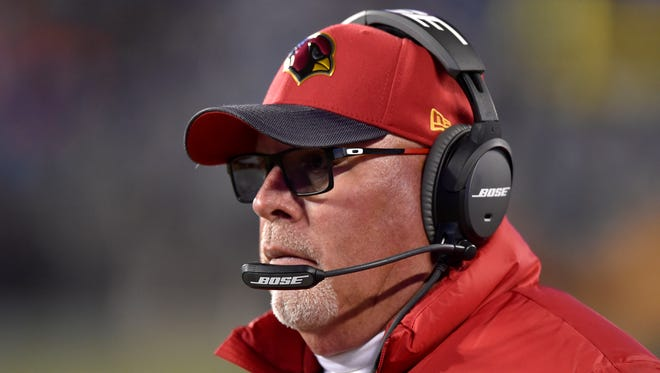 Bruce Arians is taking heat for his comments on moms and football.