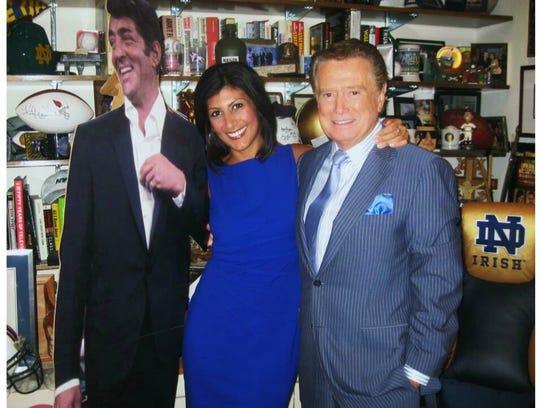 Rush-Henrietta graduate Dayna Roselli, a TV news anchor