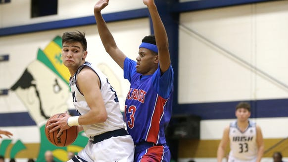 Las Cruces defeated Cathedral High School 60-42 Tuesday