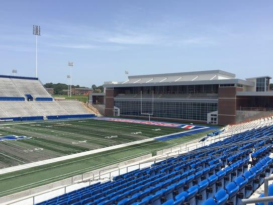 Louisiana Tech's new $22 million end zone facility