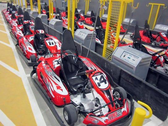 MB2 indoor go-kart track