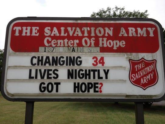 Salvation Army Center of Hope, 1137 W. Main St., Murfreesboro.