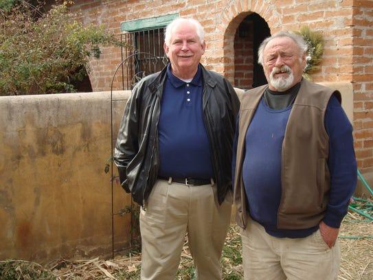 Metro Detroiter Phil McKenna (left) and writer Jim