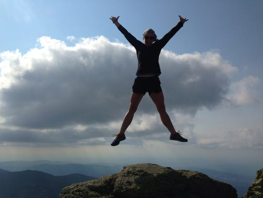 Jill Patterson began a hike on the Pacific Crest Coast