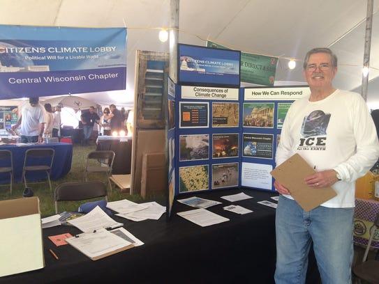 Dan Dieterich, Citizens' Climate Lobby state coordinator