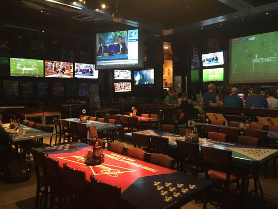 Blondies Sports Bar & Grill at Miracle Mile Shops in