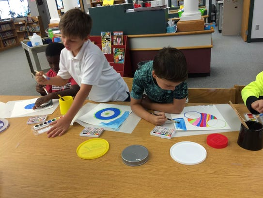 Charles Burke Elementary students recently participated