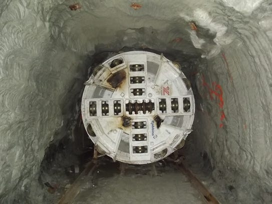 ReWa will use a tunnel boring machine similar to this