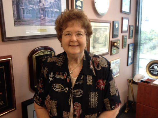 County Commissioner Jane Sauls.