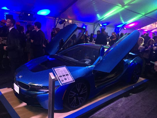 BMW was a sponsor of this year's Detroit Glamour event,
