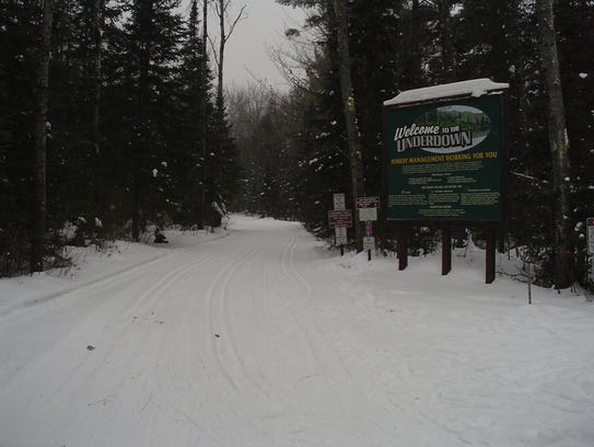 The Underdown Recreation Area near Irma has been grooming