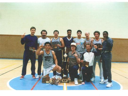 The 1985 Wilson Optical team that won the Texas Amateur