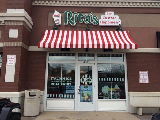 Rita's Italian Ice has closed at 26 Market Square.