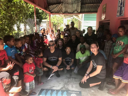 Centenary University students travel to the Dominical