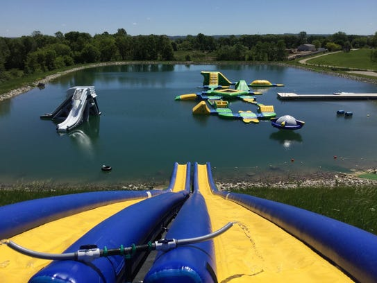 Fondy Aqua Park has added a variety of water attractions