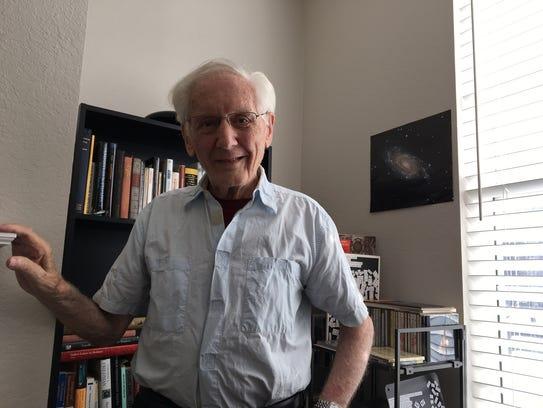 Hans Plendl, 90-year-old emeritus nuclear physics professor