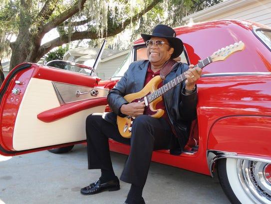 Bobby Blackmon steps out at the Bradfordville blues