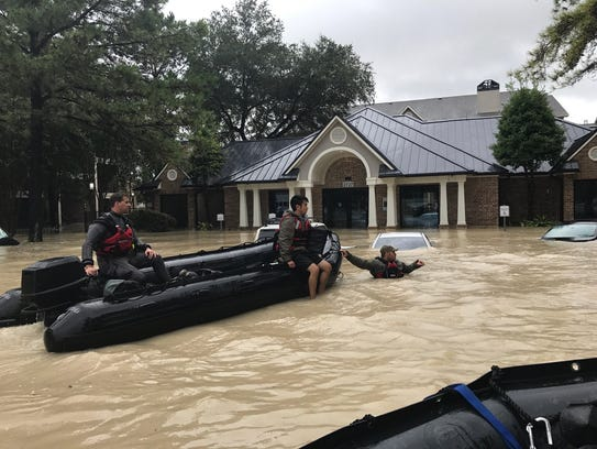 The El Paso Fire Department's Water Rescue Team was