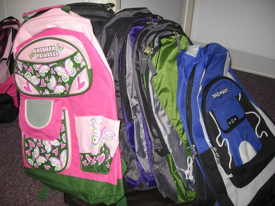 Backpacks with lots of pockets and compartments are