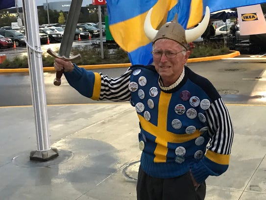 Indy resident Earl Hurst is an Ikea superfan, and has