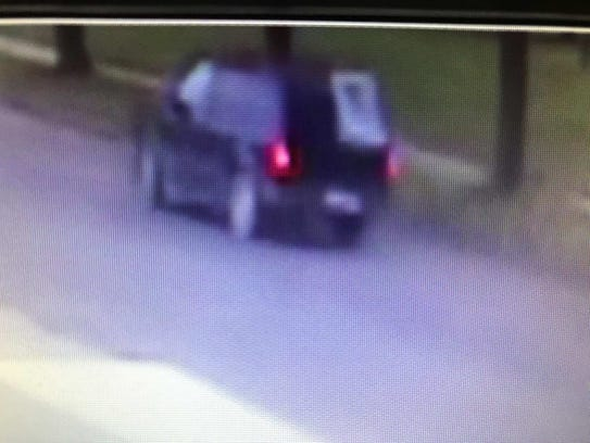 Surveillance image of the vehicle two suspects used