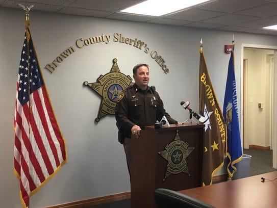Chief Deputy Todd Delain describes locations of several