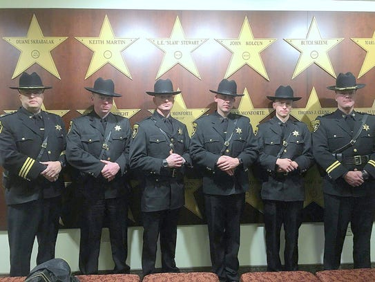 Four new additions to the Chemung County Sheriff's