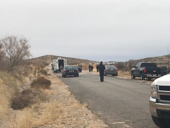 Sheriff's deputies are investigating after a body was