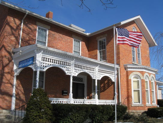 The home of the Colonel George Croghan Chapter of the